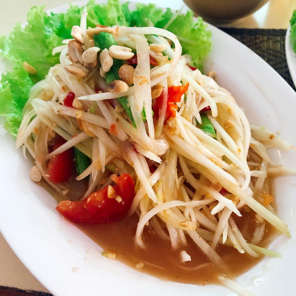 タイ料理は食べる薬 ソムタム編